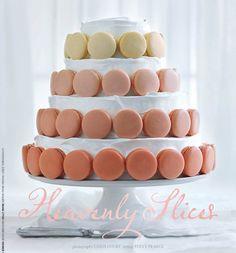 Simple Wedding Cakes | simple stunning wedding cake ombre pastel macaron cake