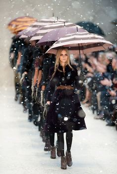 Burberry fashion show