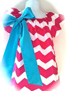 Toddler Chevron Dress Girls Chevron Dress Hot Pink by 8thDayStudio, $34.00.......I'm wanting to do my girls room in Pink and Teal...I think it would be so cute to get their pics made together in these dresses and hang in their room!