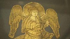 Photographie : Bénédicte Meffre - Hémiole.Fragment de vêtement liturgique ou de devant d'autel, basse-saxe, vers 1210-1230.
