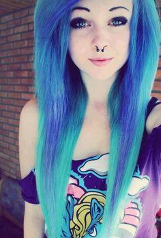 Blue hair :)