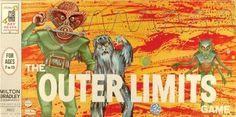 The Outer Limits Game #games #boardgames #vintage #scifi #horror