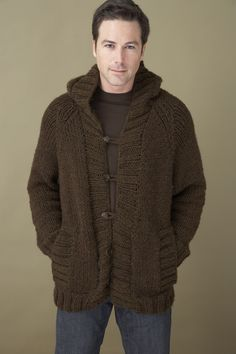 Saturday Morning Hoodie in Lion Brand Wool-Ease Chunky - 70084AD. Discover more Patterns by Lion Brand at LoveKnitting. We stock patterns, yarn, needles and books from all of your favorite brands.