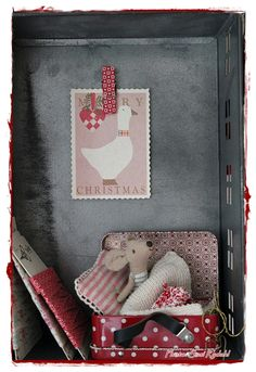 Cute felt mouse snuggled in a box - IMG_8855.JPG (734×1067)