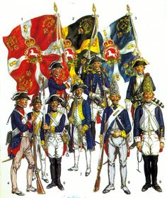 American warfare 1690-1815 in popular culture, art, in miniature and in wargames, through Living History and in movies.