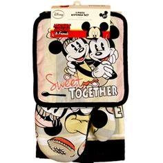 Disney Kitchen Towels | Disney Mickey Mouse Chef De Cuisine 4 Piece Kitchen Set Amazon