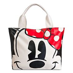 Disney Minnie Mouse Face and Feet Tote Bag | Disney StoreMinnie Mouse Face and Feet Tote Bag - Take a Disney favourite on all your adventures with our Minnie Mouse Face and Feet tote. Her face fills one side of this zip-up canvas bag in transfer print, with her dress and 3D heels on the reverse.