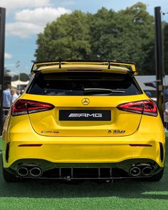 ♠️///AMG A - Edition a stunning car with its wide body kit & this low the ground character! Only 3 more weeks until we will… Mercedes A45 Amg, Mercedes Benz Germany, Mercedes Benz Cars, Car Iphone Wallpaper, Phone Backgrounds, Mercedes A Class, Wide Body Kits, Car Interior Design, Sweet Cars