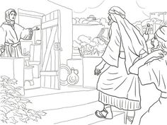 New Room Built for Elisha coloring page from Prophet Elisha category. Select from 20946 printable crafts of cartoons, nature, animals, Bible and many more.
