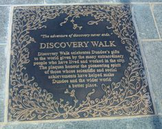 The Story of the Discovery Walk Plaque Designs: The Title Plaque Working on design proposals for the plaques led me to develop a series of stories depicted by both words and complementary illustrat…
