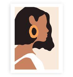 Vintage Girl Canvas Painting – King Kong Apa-Your Trend Buddy art painting Vintage Girl Canvas Painting Simple Canvas Paintings, Easy Canvas Art, Small Canvas Art, Mini Canvas Art, Abstract Canvas Art, Canvas Wall Art, Cute Paintings, Vintage Paintings, Modern Art Paintings