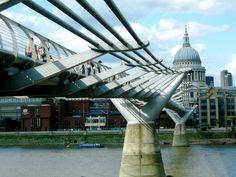 Millennium Bridge, Joel Bond Travels, London Discovery