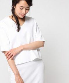【セール】12GエステルVネックプルオーバー5分袖/721197(ニット/セーター) BLISS POINT(ブリスポイント)のファッション通販 - ZOZOTOWN