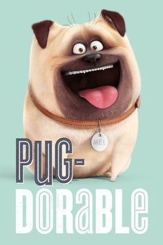 The-Secret-Life-of-Pets-Pug-Dorable-Official-Poster