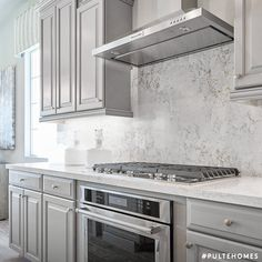 These countertops give you plenty of elbow room. Entire arm room, really. Kitchen Designs, Kitchen Ideas, Pulte Homes, Nottingham, Kitchen Styling, Cool Kitchens, Backsplash, Countertops, Building A House