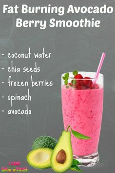 Avocado Berry Smoothie is one of the healthiest smoothie recipes you can find. I… Avocado Berry Smoothie is one of the healthiest smoothie recipes you can find. It is filled with many nutrients and also it is calorie conscious. Healthy Detox, Healthy Juices, Healthy Smoothies, Healthy Drinks, Healthy Recipes, Fruit Smoothies, Fast Recipes, Smoothies With Carrots, Delicious Healthy Food