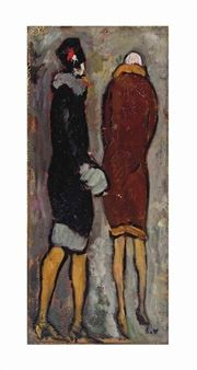 La toque noire By Louis Valtat ,1926