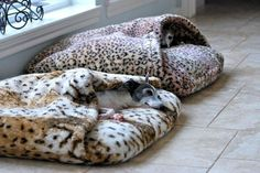 """Wally beds are fabulous and last forever - our dogs """"melt"""" into theirs and they are just as comfy and beautiful as the day we bought them years ago. They are easy to wash - there is nothing like them on the market - LOVE Wally beds!"""