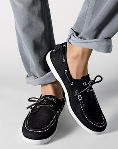 a thing for  boat shoes. H