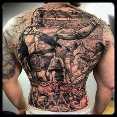 spartacus tattoo full back