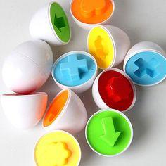 Simulação de bebê crianças Engraçadas Ovos Quebra-Cabeça Desenvolvimento de aprendizagem Brinquedos educacionais Uk