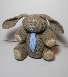 Hey, I found this really awesome Etsy listing at https://www.etsy.com/listing/178947401/crocheted-stuffed-handmade-bunnyrabbit