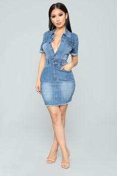a8e3e474d9 No Hesitation Dress - Medium. Denim ...