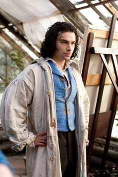 Aidan Turner (as Gabriel Rossetti) in BBC drama, Desperate Romantics 2009