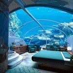 Maldive Islands...would love to go here. Not so sure about the hotel room beneath the water...interesting thought though.