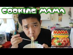 Thai Snack Online | Buy Snacks Free Worldwide Shipping | Cooking MAMA Tom Yum Shrimp Noodles | DaBoki