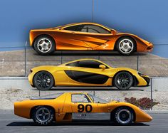 @McLaren Automotive  and old(er) graphic but still a goodie, i think.  =] 1969 McLaren M6GT - Specs vs F1 and P1 - Photo 67