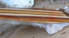 Remo Artesanal de madera para paddle surf