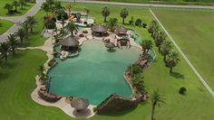 1.3 MILLION DOLLAR SWIMMING POOL IN EL CAMPO, TEXAS. BTW, THE POOL ITSELF IS OVER 2 ACRES IN SIZE. CHECK OUT THE VIDEO http://features.aol.com/video/pool-costs-13m?ncid=webmail10