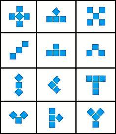 Patterns and Relationships - Growing patterns center activity Patterning Kindergarten, Preschool Math, Math Classroom, Kindergarten Math, Teaching Math, Math Strategies, Math Resources, Math Activities, Teaching Patterns