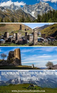 A complete backpacker's guide with everything you need to know before hitchhiking and traveling in Georgia, including visa, borders, traveling and living costs and places to visit.