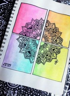 49 Ideas For Mandala Nature Drawings Drawing Heart, Doodle Art Drawing, Nature Drawing, Cool Art Drawings, Art Drawings Sketches, Painting & Drawing, Drawing Ideas, Cute Drawings Tumblr, Mandala Doodle