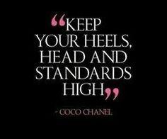 High heels quote :)