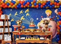 Little Prince Party, The Little Prince, Birthday Party Decorations, Party Themes, Birthday Parties, Carl Y Ellie, Prince Birthday Theme, Bumble Bee Birthday, Bernardo