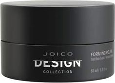 Joico Design Collection Forming Polish 50 ml / 1.7 oz    Joico Design Forming Polish is designed to add flexible definition with superior surface shine to your hair. This lightweight texturising polish allows you to layer it up whilst it remains clean and lightweight, without flakes or buildup.    For those with short-to-mid-length hair that want flexible control, moldable texture and medium shine, Joico Design Forming Polish is the styling aid for you!