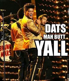 Bruno Mars performs onstage at The Annual GRAMMY Awards at Staples Center on February 2012 in Los Angeles, California. Bruno Mars Quotes, The Golden Boy, Love Ya, Man Alive, Favorite Person, Really Funny, Memes, Comedians, Growing Up