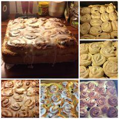 Kanelsnurrkake med Vaniljekrem – Spiselise Malta, Cereal, Stuffed Mushrooms, Baking, Vegetables, Breakfast, Food, Stuff Mushrooms, Morning Coffee