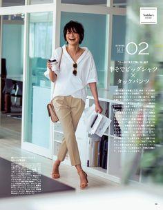 迷ったらコレで大丈夫!2016年夏の鉄板通勤スタイル3選 - Woman Insight | 雑誌の枠を超えたモデル・ファッション情報発信サイト