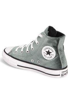 Converse Chuck Taylor® All Star® Velvet High Top Sneaker (Toddler 8a028ce9e