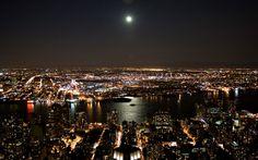 Hd Wallpaper City Night Hd Wallpapers Cities New York City Night Lights Xpx