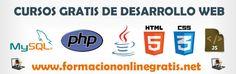 Recopilación de cursos de desarrollo web
