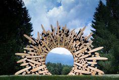 Lee Jaehyo, Sculptures.Phenomenal wooden sculptures whose...