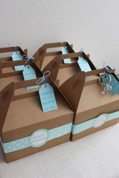 One Lucky Girl....great gift box idea
