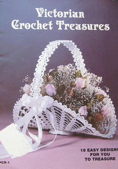 Victorian Crochet Treasures Pattern Book by TheHowlingHag on Etsy, $8.95