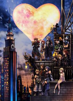 Kingdom hearts 3 Source by Kingdom Hearts Games, Kingdom Hearts Fanart, Disney Kingdom Hearts, Kingdom Hearts Namine, Kingdom Hearts Tattoo, Cry Anime, Anime Art, Ps Wallpaper, Heart Wallpaper
