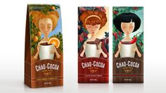 Chao Cocoa on Packaging of the World - Creative Package Design Gallery